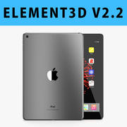 E3D - Apple iPad 9.7 İnç 2017 Wi-fi Uzay Grisi modeli 3d model