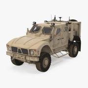 Oshkosh M-ATV Véhicule protégé contre les embuscades résistant aux mines 3d model