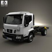Camion châssis Nissan NT 500 2014 3d model