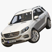 Mercedes Benz GLE 2017 3d model