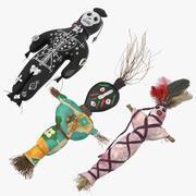 Voodoo Dolls 3d model