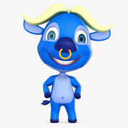 Cartoon Buffalo 3d model