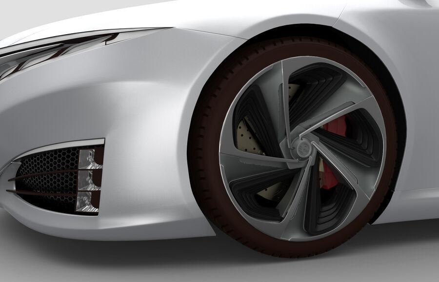 Concept Car royalty-free 3d model - Preview no. 7
