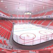 Eishockey-Stadion 3d model