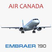 Embraer ERJ-190 Air Canada 3d model