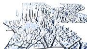 Paisagem urbana 3d model