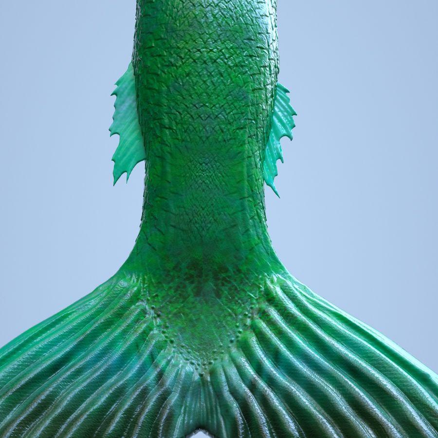 Realistische Zeemeerminstaart royalty-free 3d model - Preview no. 8