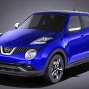 Nissan Juke 2015 VRAY 3d model
