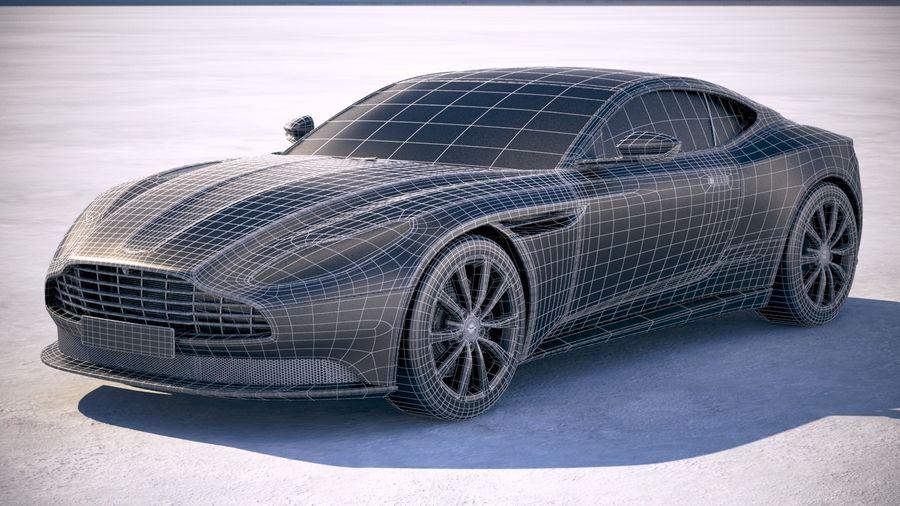 阿斯顿马丁DB11 V8 2018 royalty-free 3d model - Preview no. 19