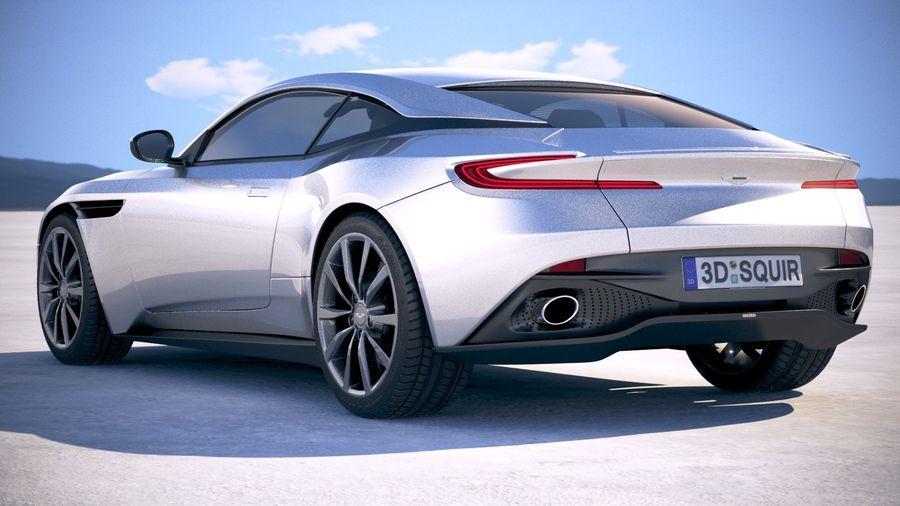 阿斯顿马丁DB11 V8 2018 royalty-free 3d model - Preview no. 13