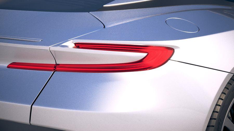 阿斯顿马丁DB11 V8 2018 royalty-free 3d model - Preview no. 16