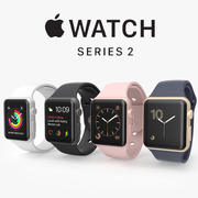Apple watch series 2 3d model