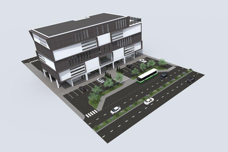 购物中心 royalty-free 3d model - Preview no. 3