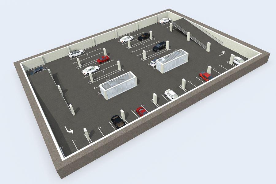 购物中心 royalty-free 3d model - Preview no. 17