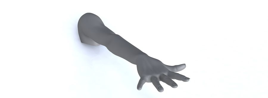 Arm right royalty-free 3d model - Preview no. 20