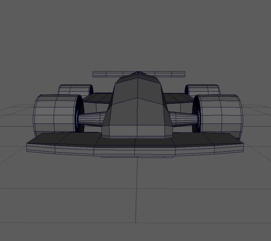 Toy Car  formula 1 royalty-free 3d model - Preview no. 10
