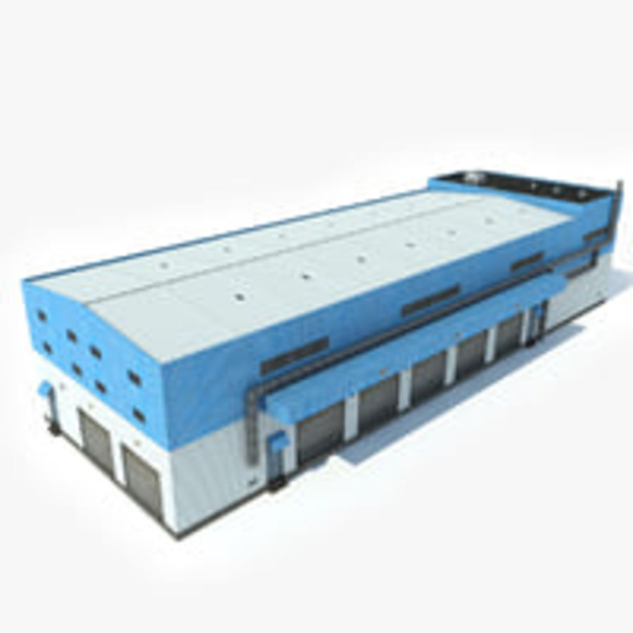 Warehouse 1 royalty-free 3d model - Preview no. 1