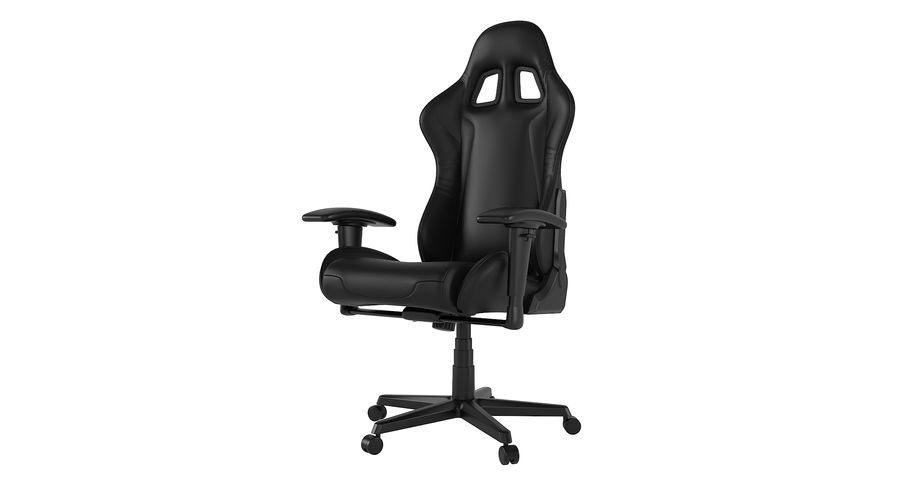 DxRacer Gaming Chair royalty-free 3d model - Preview no. 2