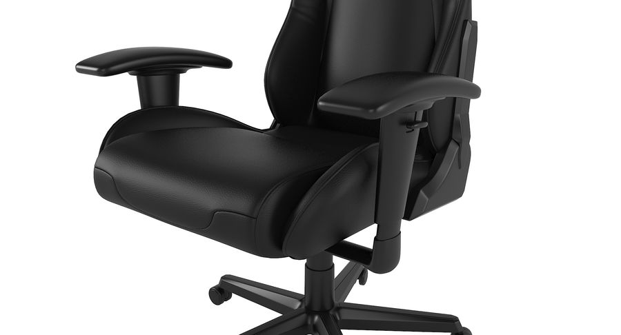 DxRacer Gaming Chair royalty-free 3d model - Preview no. 6