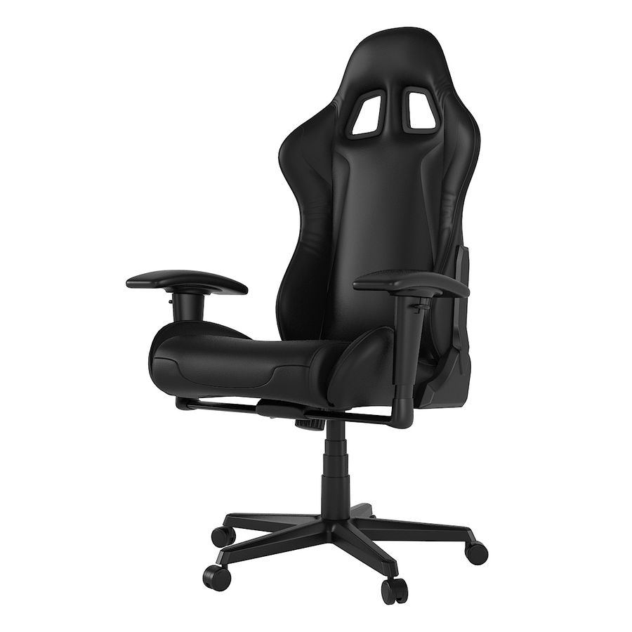 DxRacer Gaming Chair royalty-free 3d model - Preview no. 1