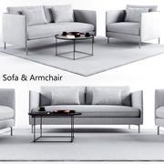 沙发套装1 3d model