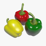 Bell pepper 3d model