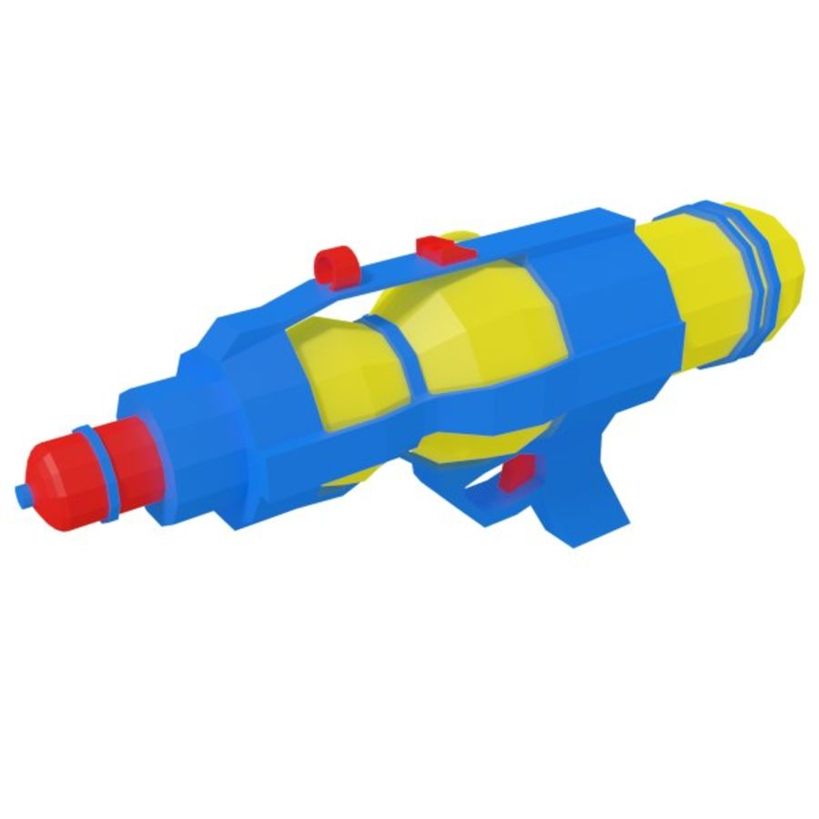 Waterpistool royalty-free 3d model - Preview no. 1