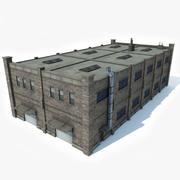 Factory Building 3 3d model