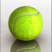 Piłka tenisowa 3d model