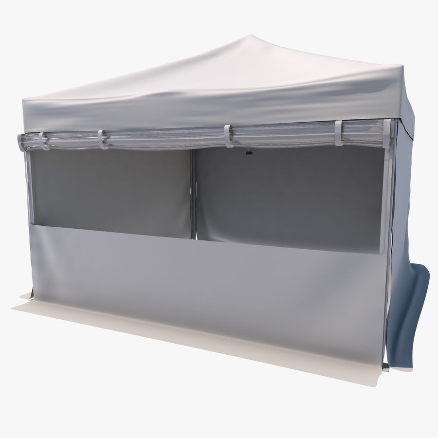 Event Tent Covered royalty-free 3d model - Preview no. 1