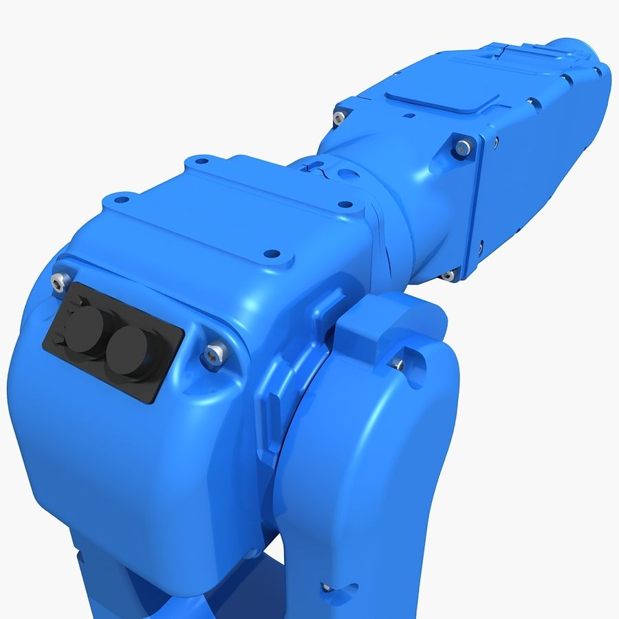 YASKAWA MH5LS Industrial Robot royalty-free 3d model - Preview no. 7