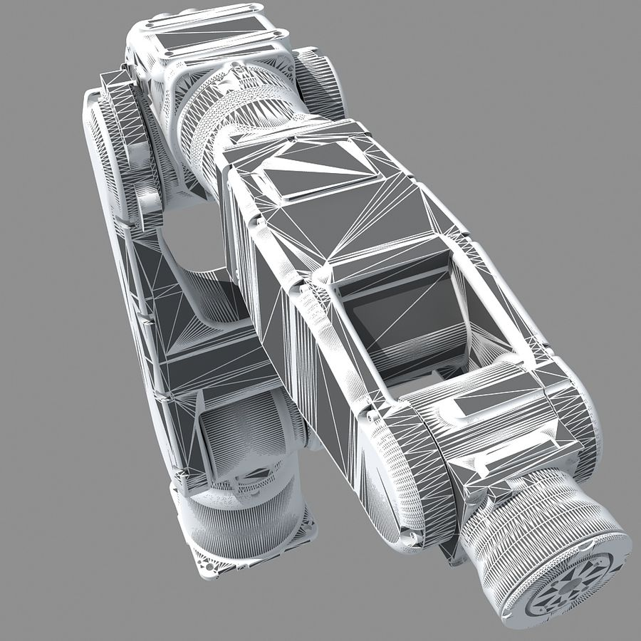YASKAWA MH5LS Industrial Robot royalty-free 3d model - Preview no. 12