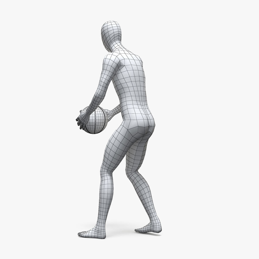 Mannequin de sport homme 4 royalty-free 3d model - Preview no. 12