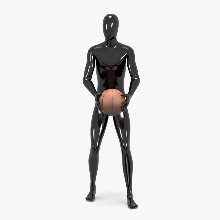 Male sport mannequin 4 royalty-free 3d model - Preview no. 3