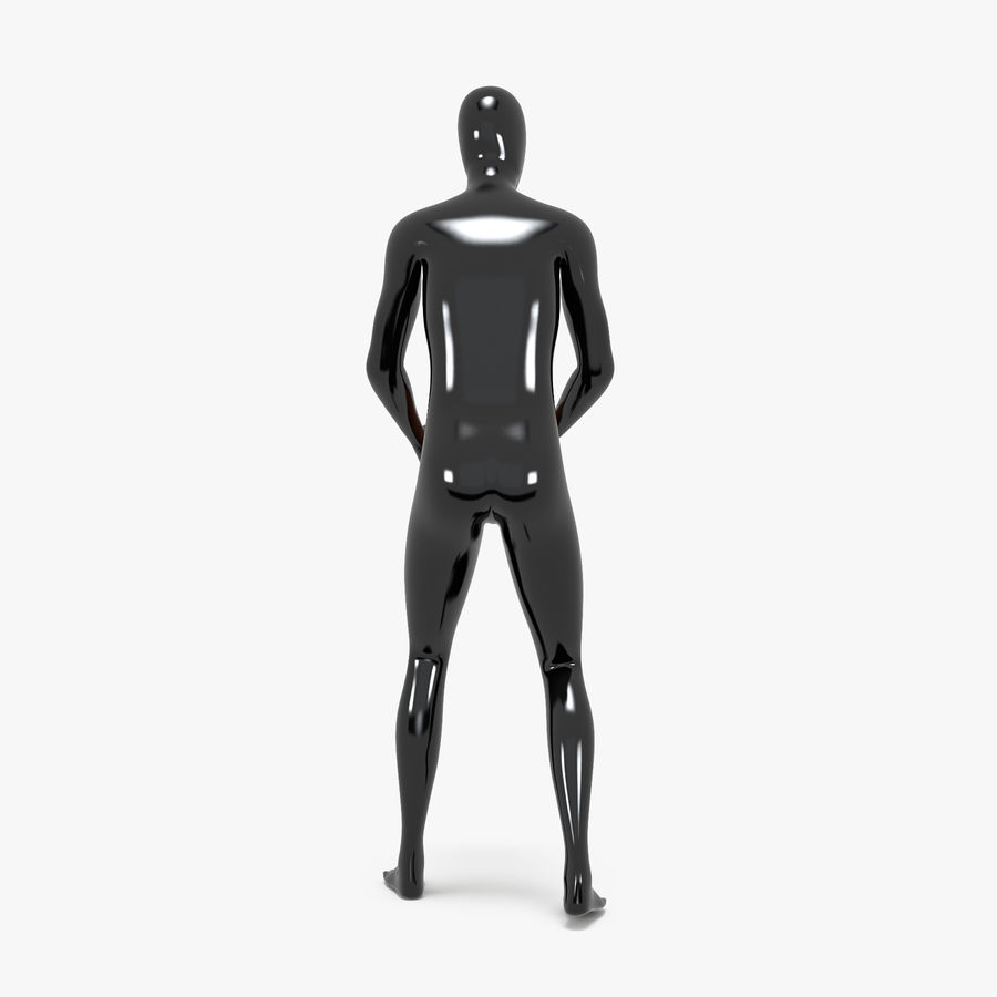Mannequin de sport homme 4 royalty-free 3d model - Preview no. 9