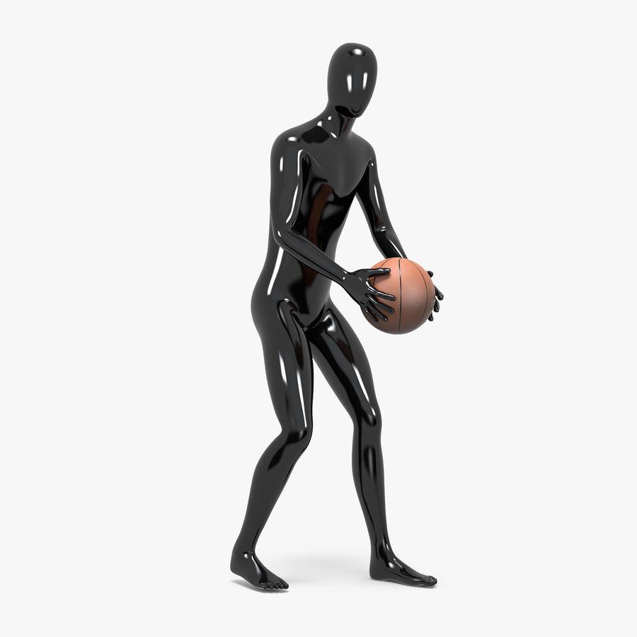 Mannequin de sport homme 4 royalty-free 3d model - Preview no. 5