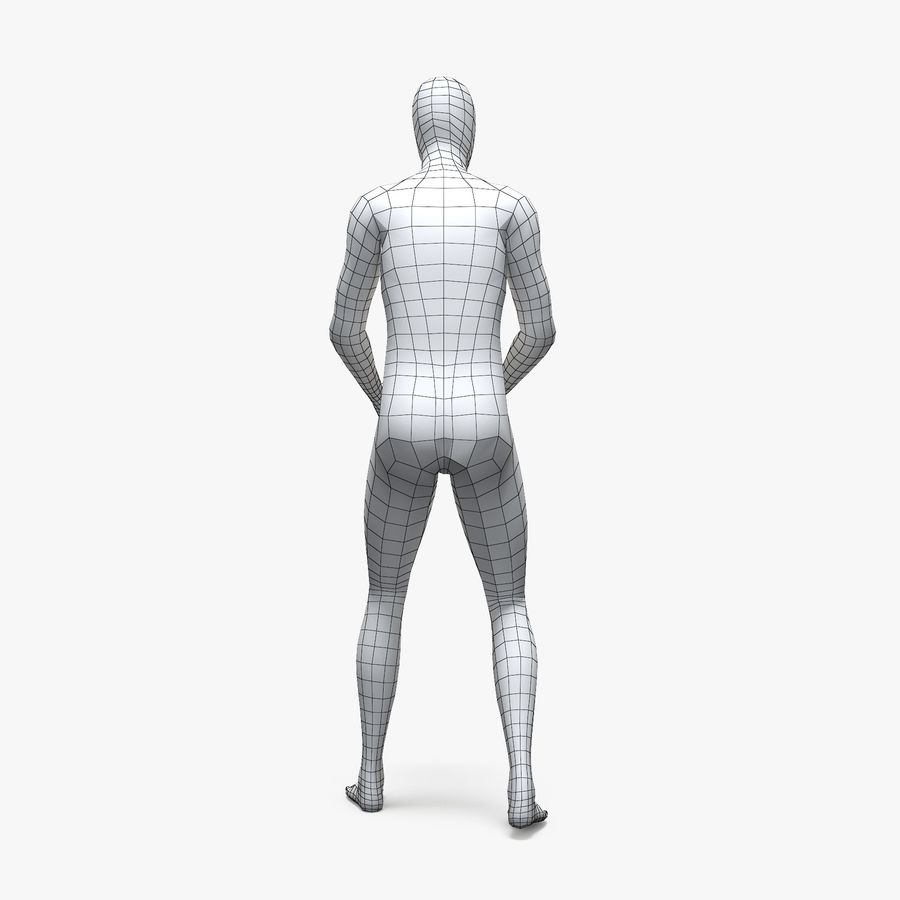 Male sport mannequin 4 royalty-free 3d model - Preview no. 10