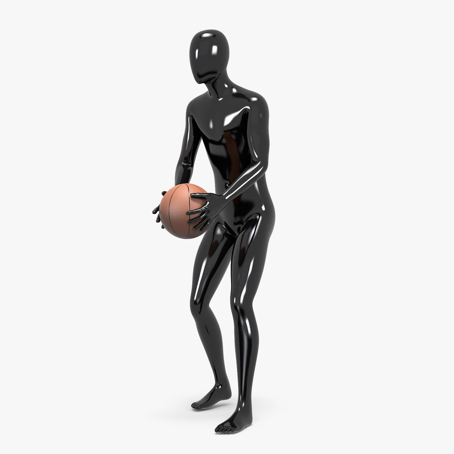 Mannequin de sport homme 4 royalty-free 3d model - Preview no. 1