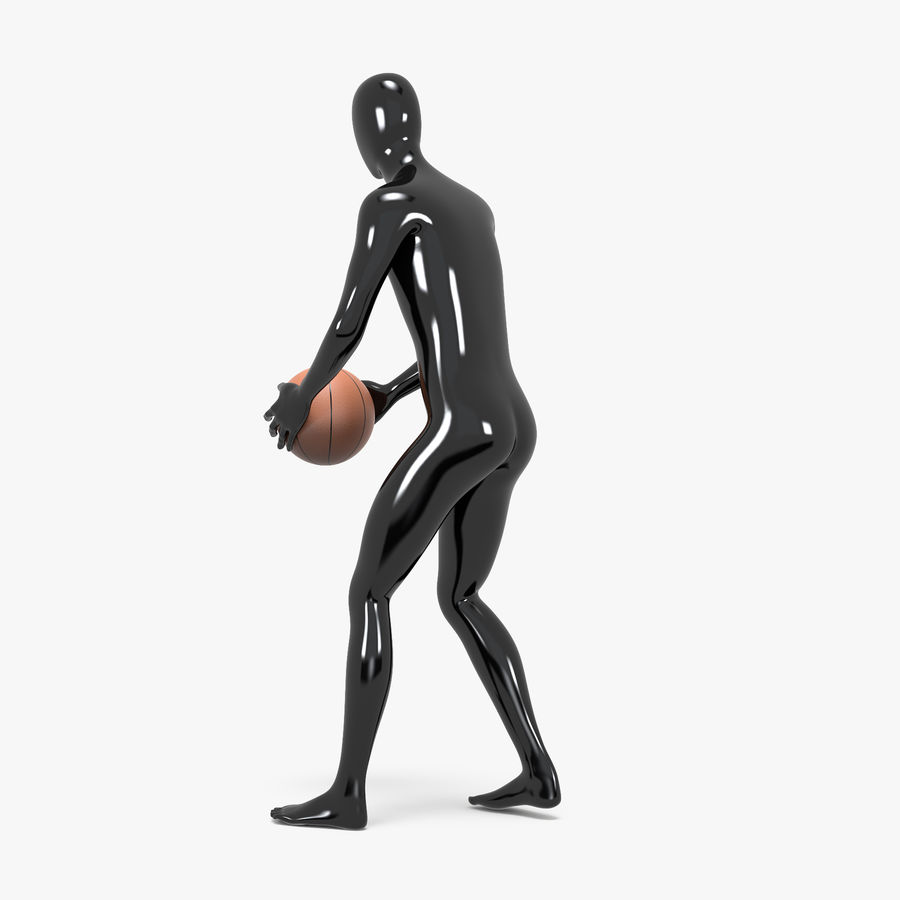 Mannequin de sport homme 4 royalty-free 3d model - Preview no. 11