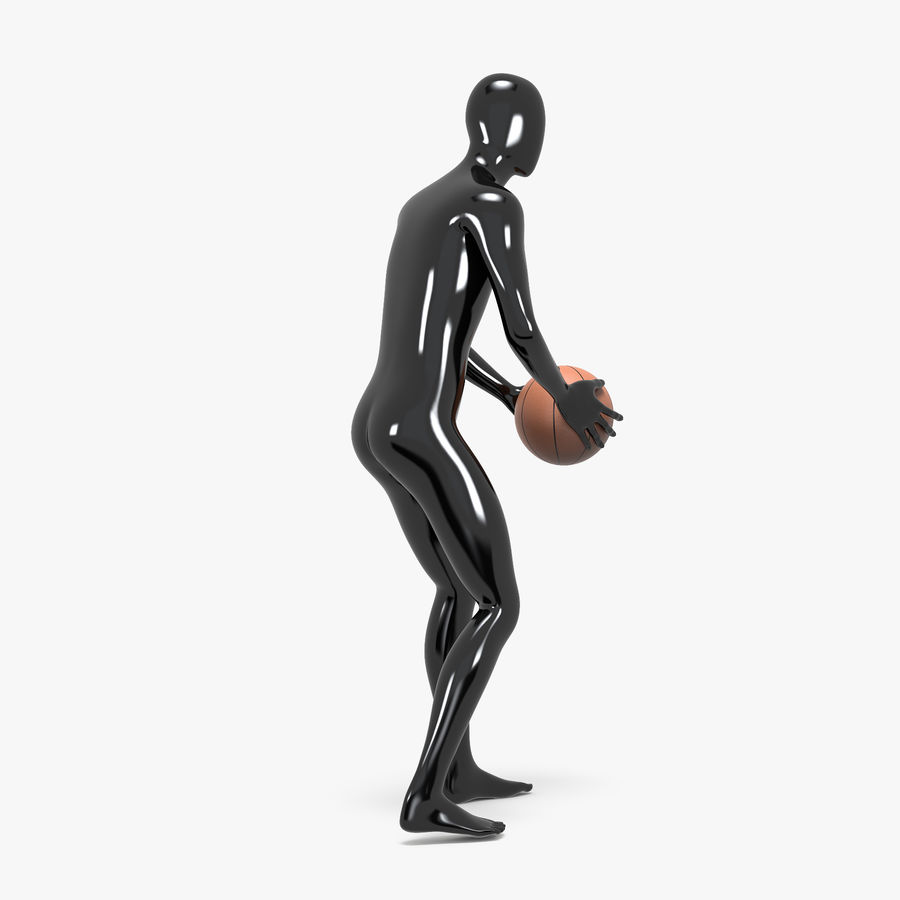 Mannequin de sport homme 4 royalty-free 3d model - Preview no. 7