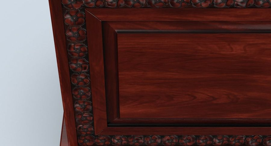 Hope Chest 02 Closed royalty-free 3d model - Preview no. 9