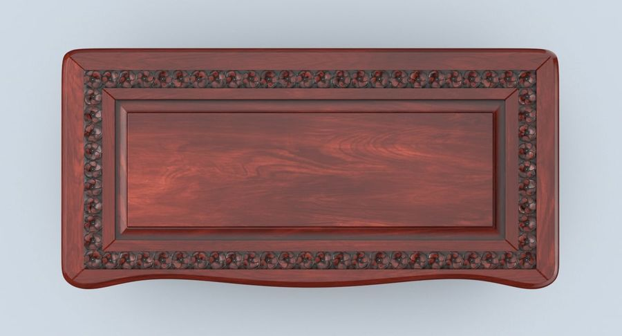 Hope Chest 02 Closed royalty-free 3d model - Preview no. 5