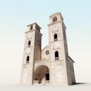Kotor-Kathedrale von Saint Tryphon 3d model