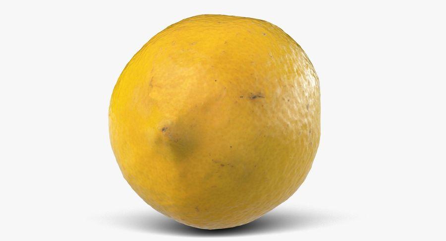 Lemon Fruit royalty-free 3d model - Preview no. 7