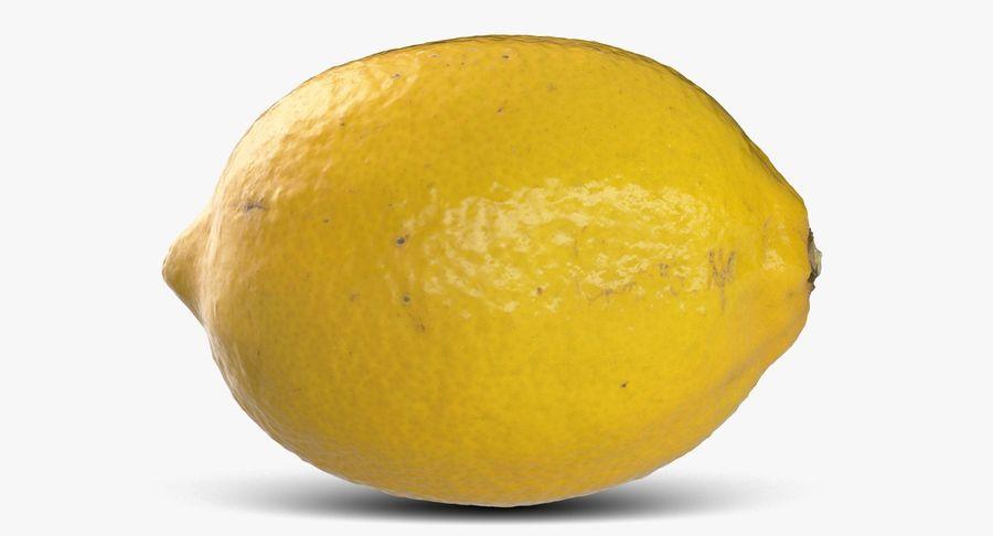 Citroen fruit royalty-free 3d model - Preview no. 6