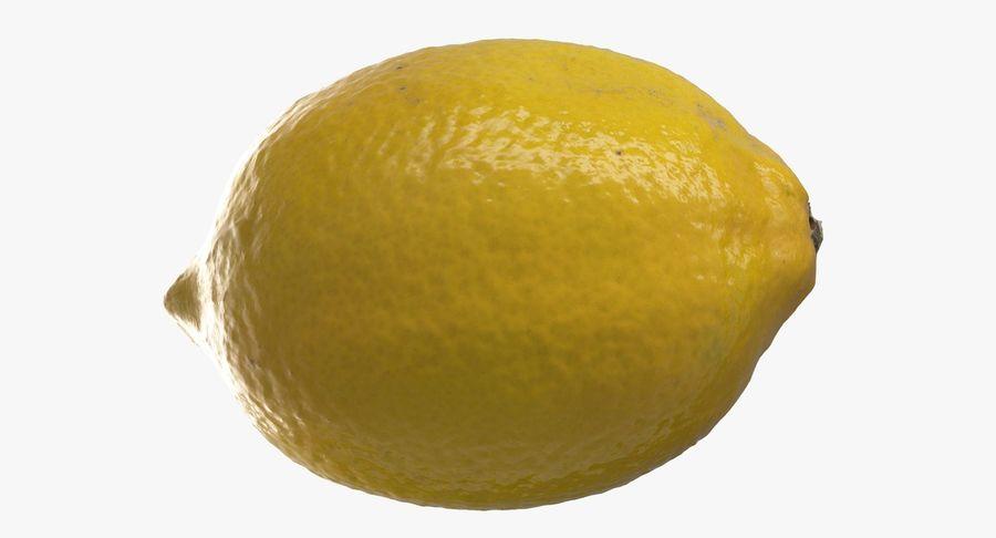 Lemon Fruit royalty-free 3d model - Preview no. 9