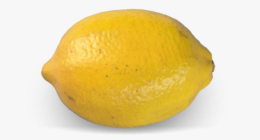 Lemon Fruit royalty-free 3d model - Preview no. 8