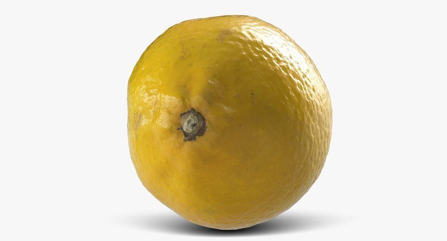 Citroen fruit royalty-free 3d model - Preview no. 5