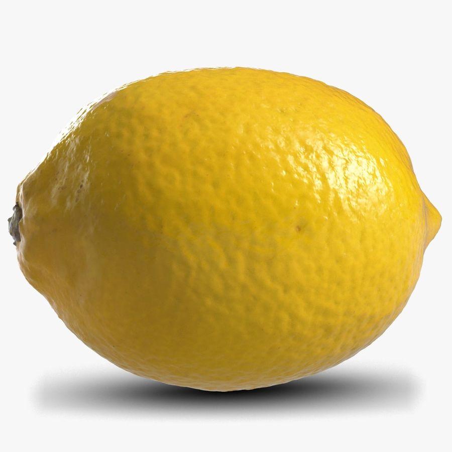 Lemon Fruit royalty-free 3d model - Preview no. 1