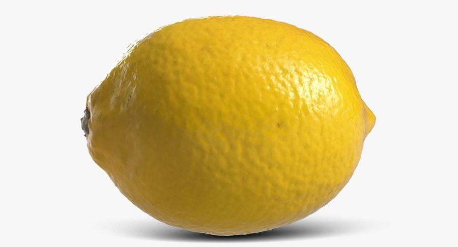 Lemon Fruit royalty-free 3d model - Preview no. 2